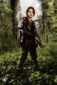 Katniss Everdeen xskiesrbluex.deviantart.com
