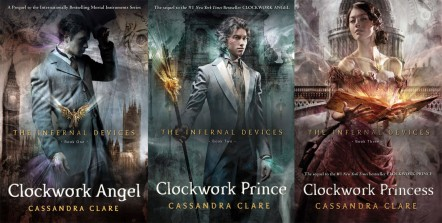The Mortal Instruments and The Infernal Devices by Cassandra Clare