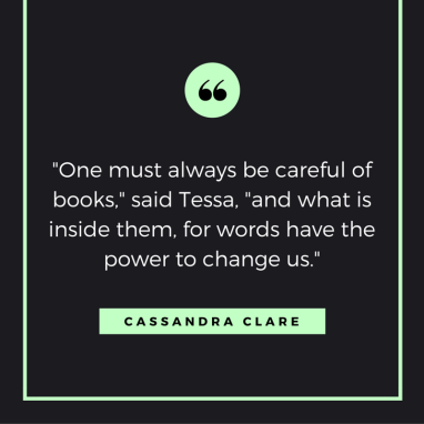 Cassandra Clare Book Quote (1)